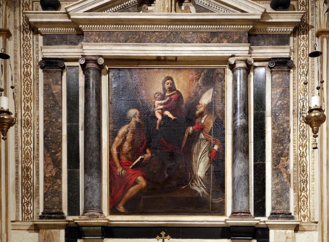 Passignano, madonna tra i ss. mercurialee girolamo1598 ca. 02 - Sailko - Forlì (FC)