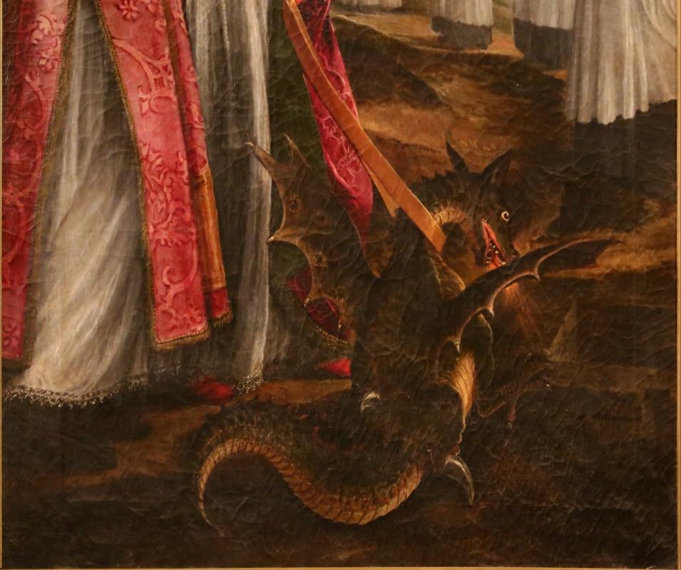 Cigoli, san mercuriale uccide il drago, 1598 ca. 04 - Sailko - Forlì (FC)