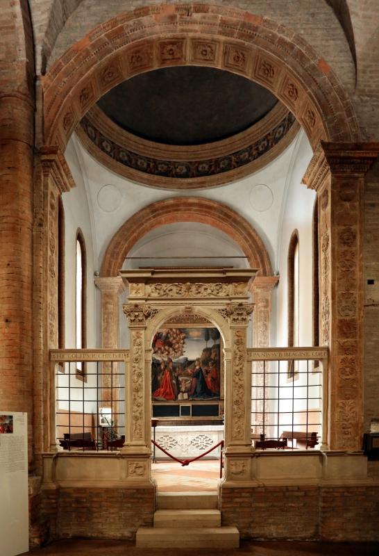 Forlì, san mercuriale, interno, cappella ferri 01 - Sailko - Forlì (FC)