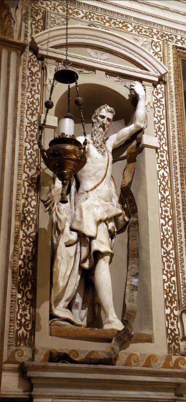 Cappella di san mercuriale, statue di profeti in stucco di artisti locali, 1598 ca., 01 geremia - Sailko - Forlì (FC)