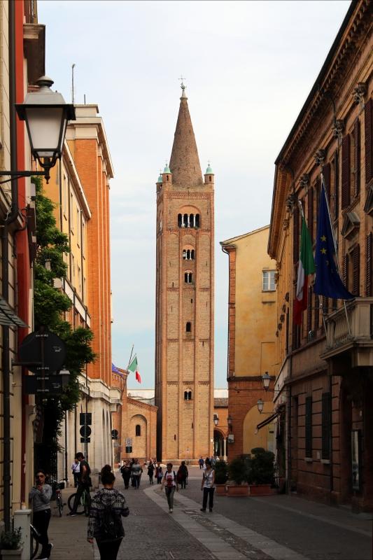 Forlì, san mercuriale, esterno, campanile del 1178-80 - Sailko - Forlì (FC)