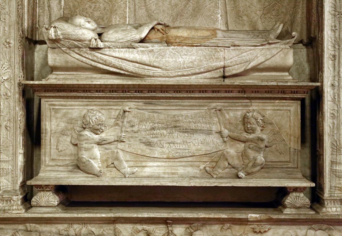 Francesco di simone ferrucci, monumento di barbara manfredi, 1466-68, 03 - Sailko - Forlì (FC)
