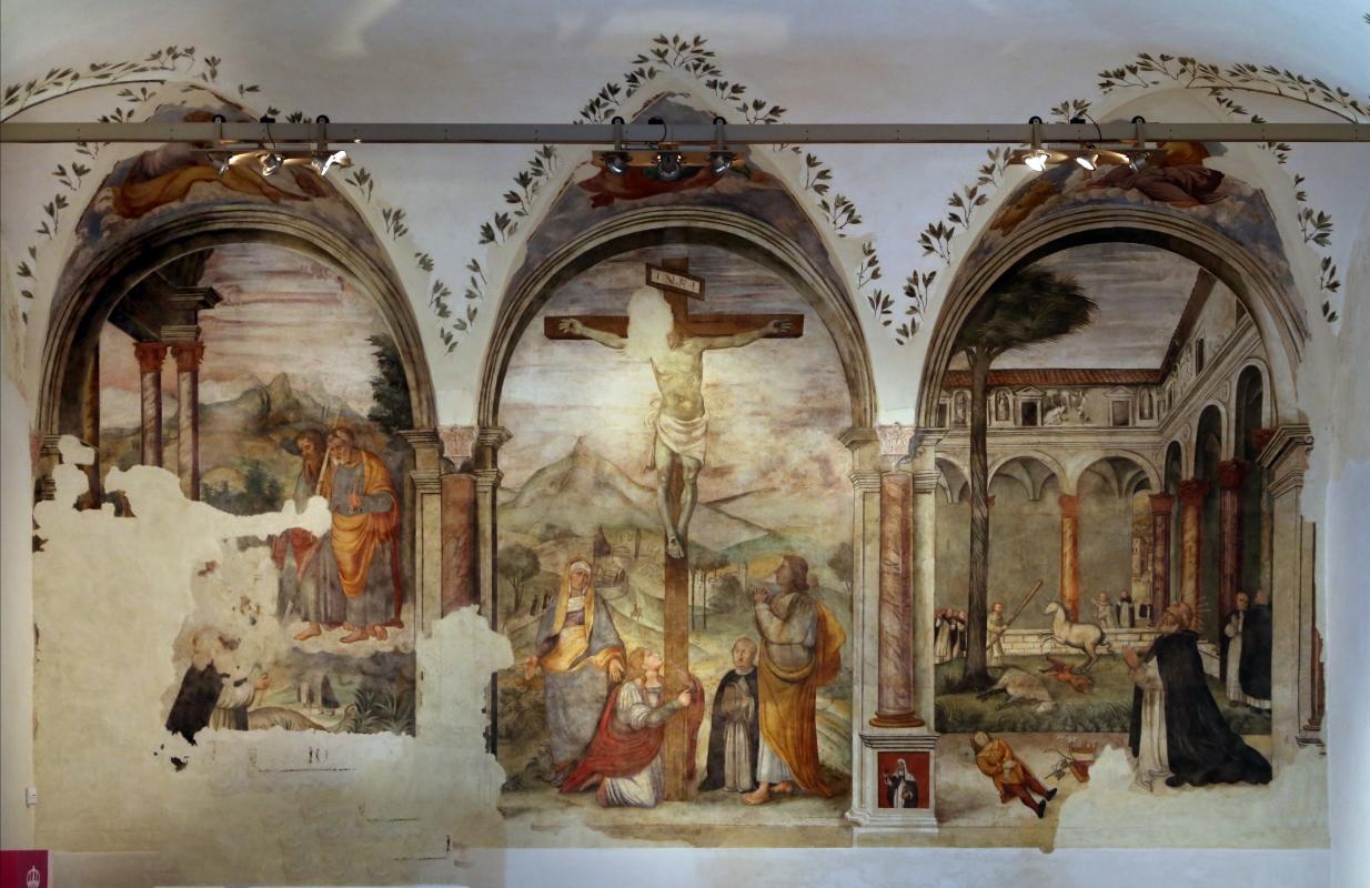 Girolamo Ugolini, crocifissione con santi, 1520 ca. 01 - Sailko - Forlì (FC)