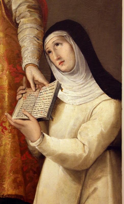 Gian francesco modigliani, sposalizio di s. caterina alla presenza di una suora novizia, 1590 ca, dalla sagrestia di s. caterina a forlì 03 - Sailko - Forlì (FC)