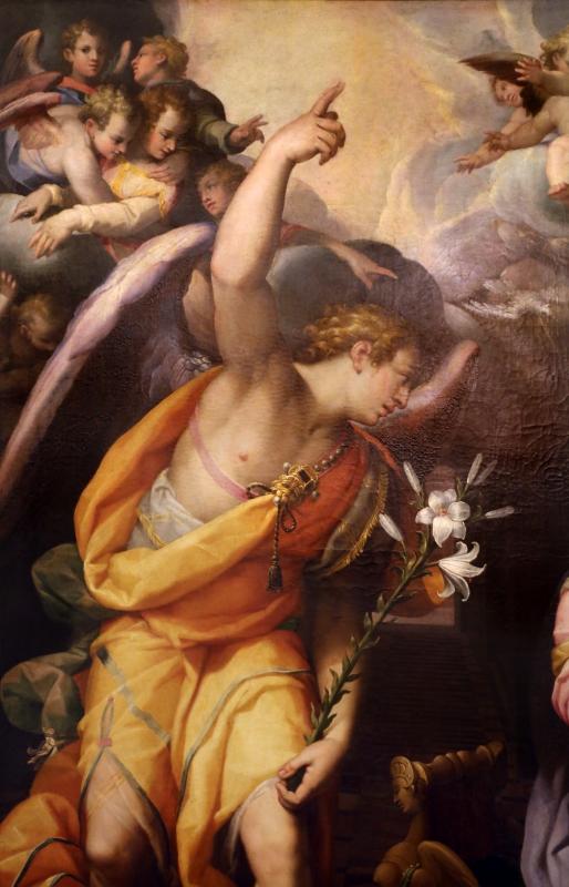 Orazio samacchini, annunciazione, 1572, 02 - Sailko - Forlì (FC)
