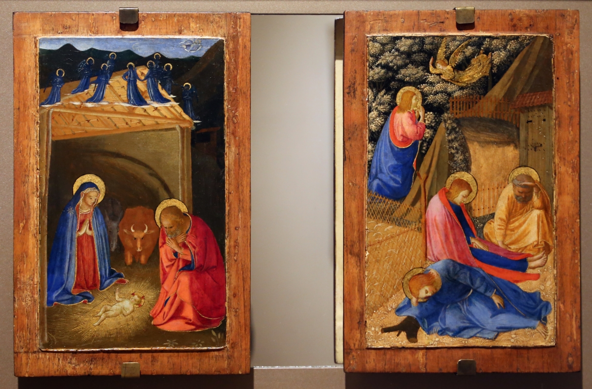 Beato angelico, natività e preghiera nell'orto, 1440-50 ca., 01 - Sailko - Forlì (FC)