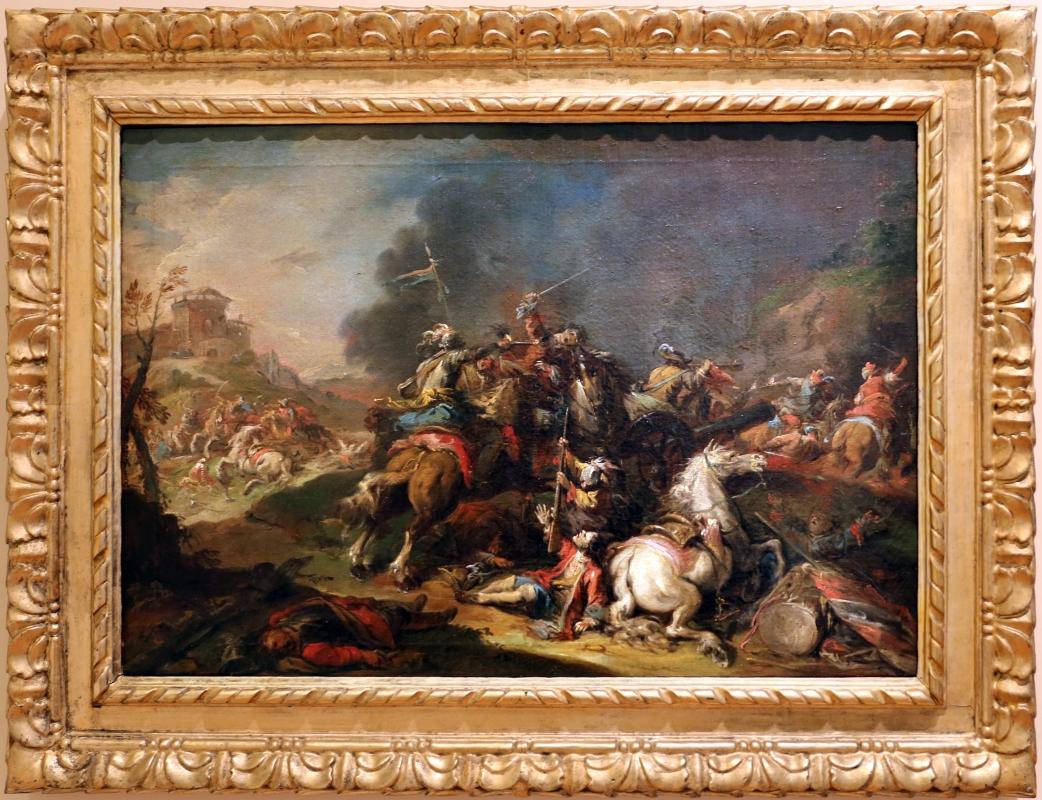 Nicola bertuzzi, scena di battaglia, 1750-70 ca. 01 - Sailko - Forlì (FC)