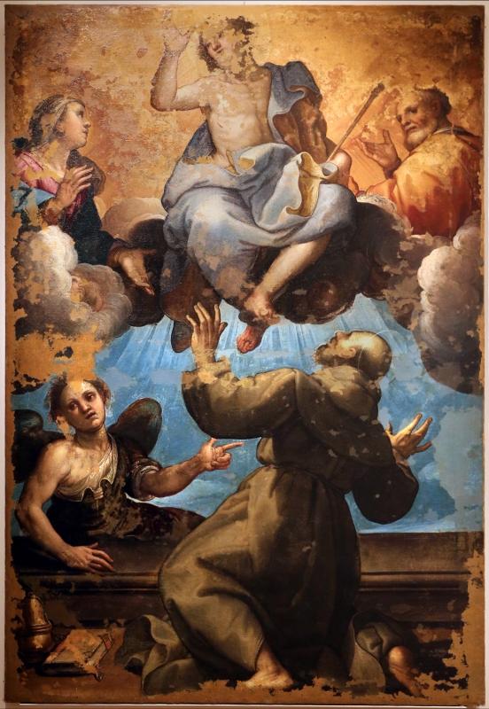 Ferraù fenzoni, perdono di assisi, 1614 ca., dal duomo di forlì - Sailko - Forlì (FC)