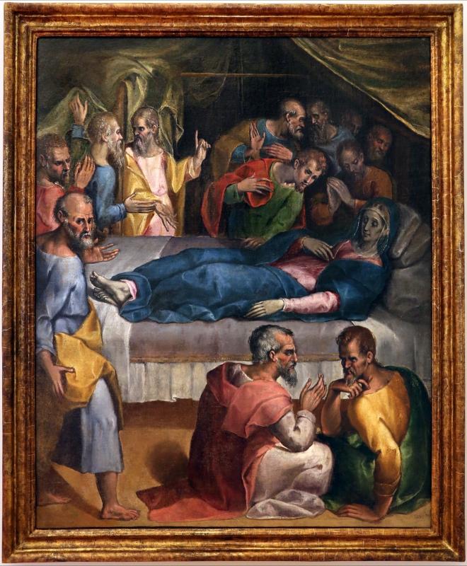 Gian francesco modigliani, morte della vergine, 1590-1600 ca. 01 - Sailko - Forlì (FC)