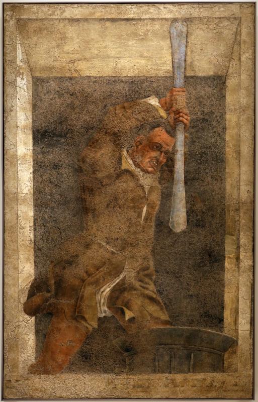 Scuola di francesco del cossa, pestapepe, 1450-1500 ca, dal fondaco delle spezierie di girolamo riario - Sailko - Forlì (FC)