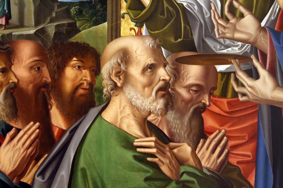 Marco palmezzano, comunione degli apostoli, 1506, dall'altare maggiore del duomo di forlì, 02 - Sailko - Forlì (FC)