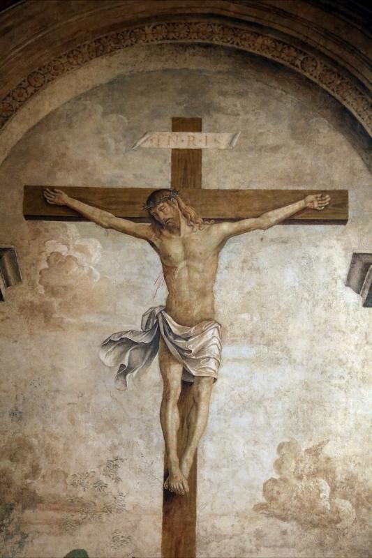 Marco palmezzano, crocifissione e santi, 1492, da s.m. della ripa a forlì, 02 - Sailko - Forlì (FC)