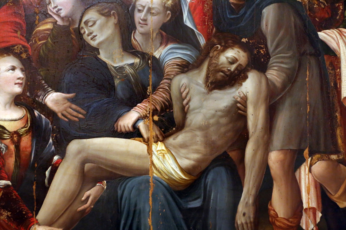 Giulio avezuti detto il ponteghino, deposizione dalla croce, 1525-50 ca., da s. filippo neri a forlì 02 - Sailko - Forlì (FC)