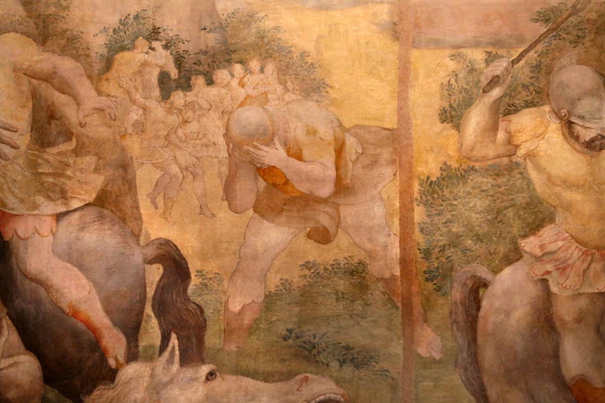 Pier paolo menzocchi, conversione di saulo, da s. giacomo in s. domenico a forlì, 03 - Sailko - Forlì (FC)