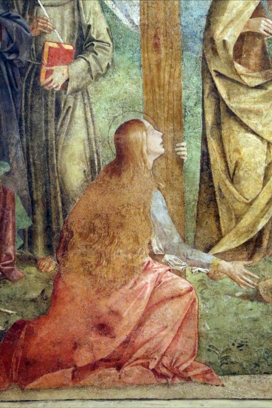Marco palmezzano, crocifissione e santi, 1492, da s.m. della ripa a forlì, 04 maddalena - Sailko - Forlì (FC)