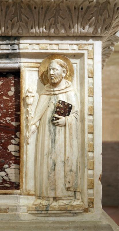 Sarcofago del beato giacomo salomoni, 1340 ca., da s. giacomo apostolo in san domenico, 10 domenico - Sailko - Forlì (FC)