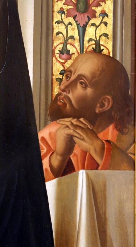 Marco palmezzano, comunione degli apostoli, 1506, dall'altare maggiore del duomo di forlì, 03 - Sailko - Forlì (FC)
