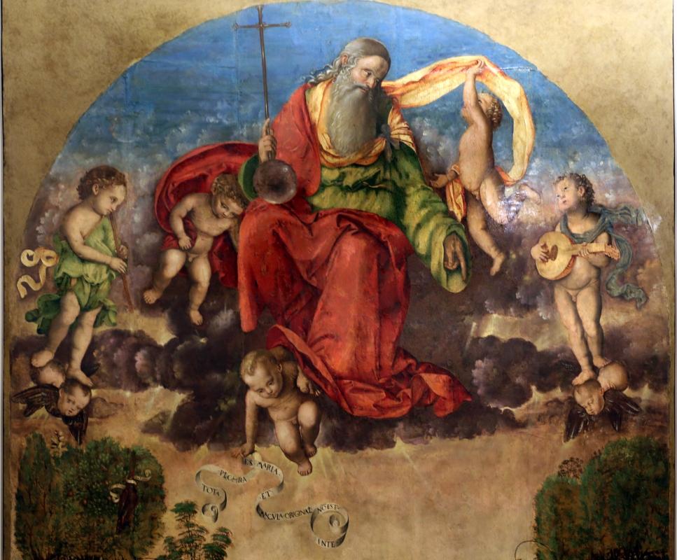 Francesco zaganelli da cotignola, concezione della vergine, 1513, da s. biagio in s. girolamo a forlì, 02 - Sailko - Forlì (FC)