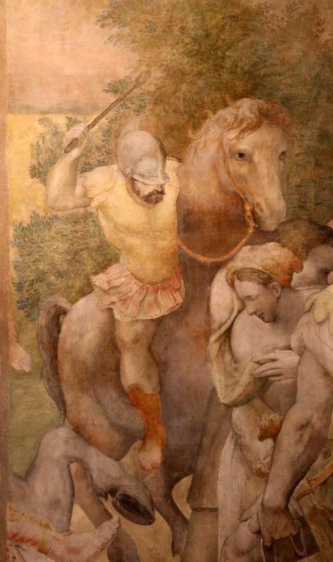 Pier paolo menzocchi, conversione di saulo, da s. giacomo in s. domenico a forlì, 05 - Sailko - Forlì (FC)
