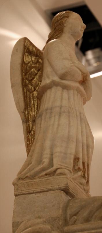 Sarcofago del beato giacomo salomoni, 1340 ca., da s. giacomo apostolo in san domenico, 03 angelo annunciate - Sailko - Forlì (FC)