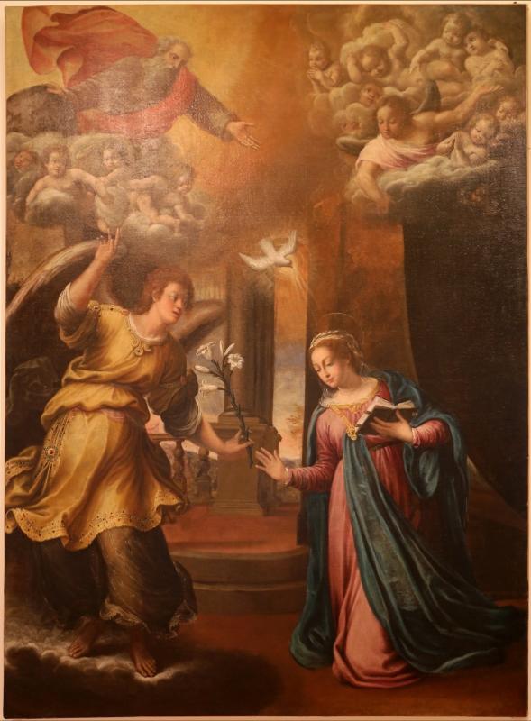 Bernardino baldi, annunciazione, 1600 - Sailko - Forlì (FC)
