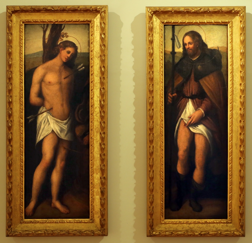 Scuola ferrarese, ss. sebastiano e rocco, xvi secolo - Sailko - Forlì (FC)