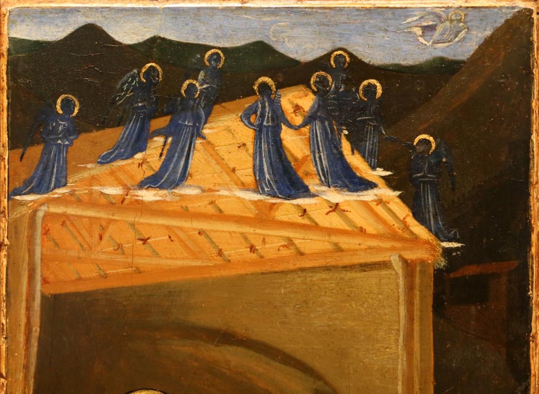 Beato angelico, natività e preghiera nell'orto, 1440-50 ca., 03 angeli - Sailko - Forlì (FC)