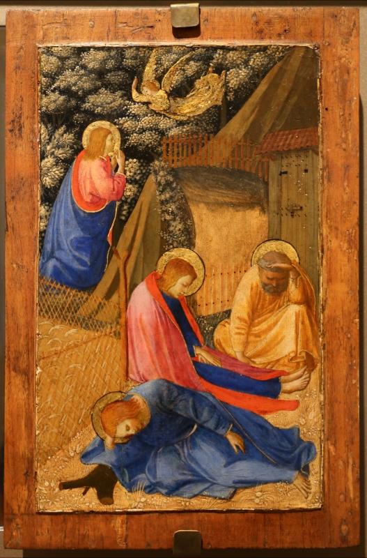 Beato angelico, natività e preghiera nell'orto, 1440-50 ca., 06 - Sailko - Forlì (FC)