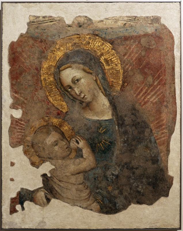 Maestro di tossino (scuola di andrea da bologna), madonna dell'umiltà, 1360 ca., da s. giacomo apostolo in san domenico a forlì - Sailko - Forlì (FC)
