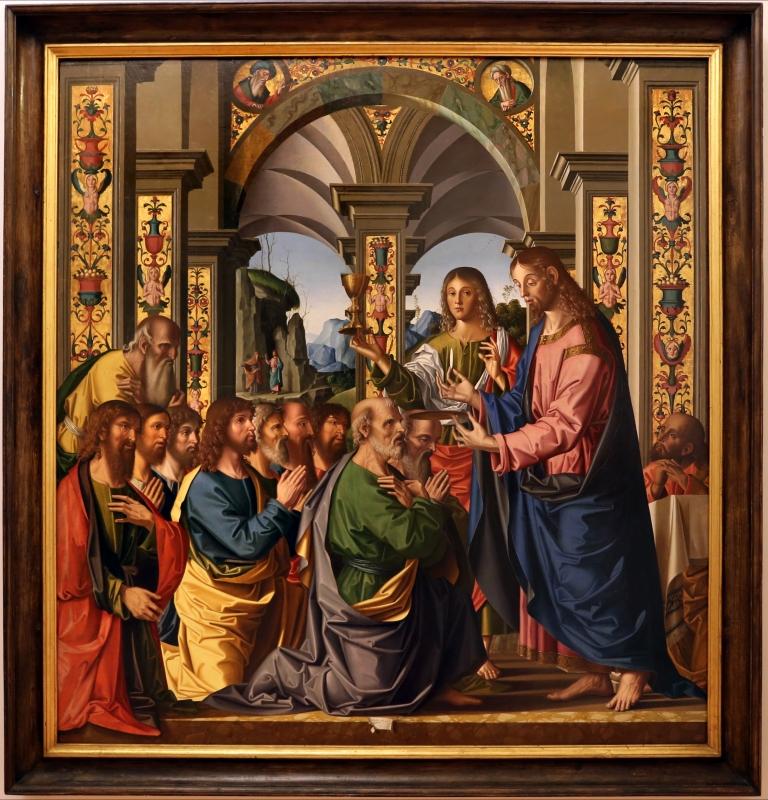 Marco palmezzano, comunione degli apostoli, 1506, dall'altare maggiore del duomo di forlì, 01 - Sailko - Forlì (FC)