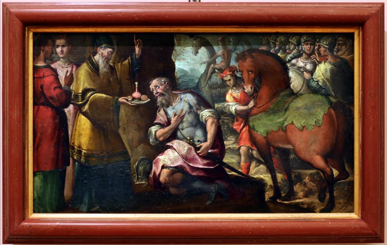 Gian francesco modigliani, storie eucaristiche, 1600-10 ca, dal duomo di forlì, incontro d abramo e melchidesech - Sailko - Forlì (FC)