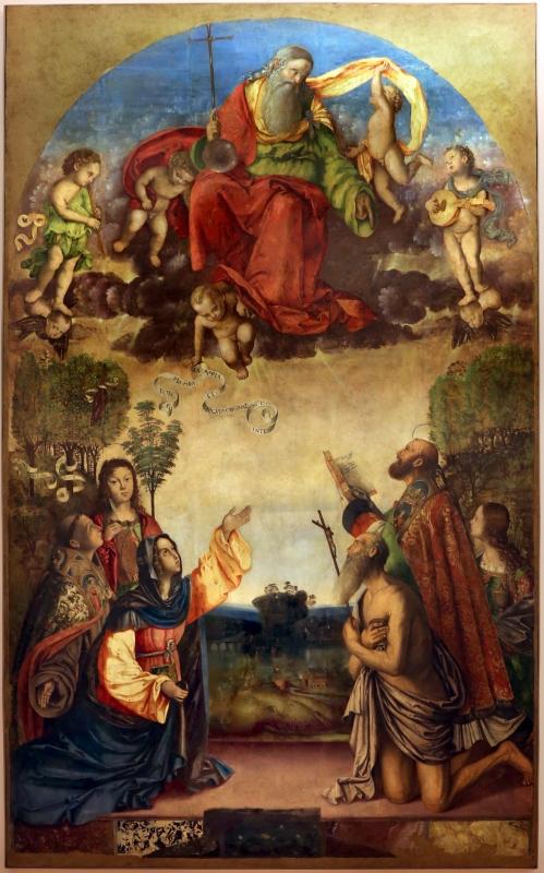 Francesco zaganelli da cotignola, concezione della vergine, 1513, da s. biagio in s. girolamo a forlì, 01 - Sailko - Forlì (FC)
