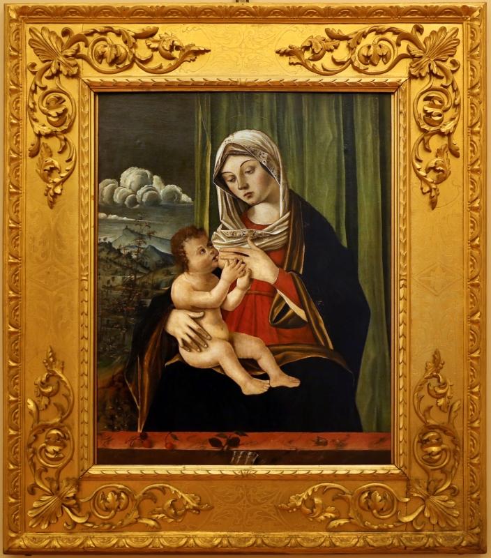 Nicolò rondinelli, madonna col bambino, da s. biagio in s. girolamo a forlì, 01 - Sailko - Forlì (FC)
