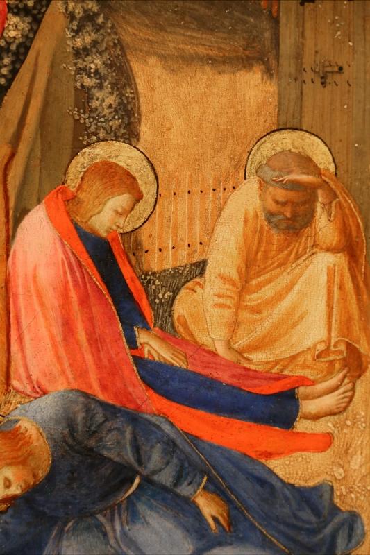 Beato angelico, natività e preghiera nell'orto, 1440-50 ca., 09 - Sailko - Forlì (FC)