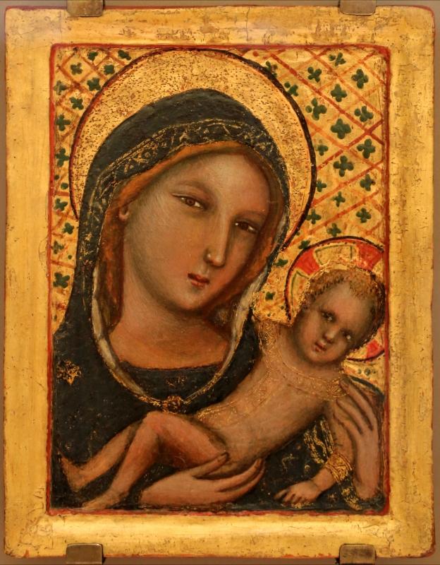 Vitale da bologna, madonna col bambino, 1345-55 ca - Sailko - Forlì (FC)