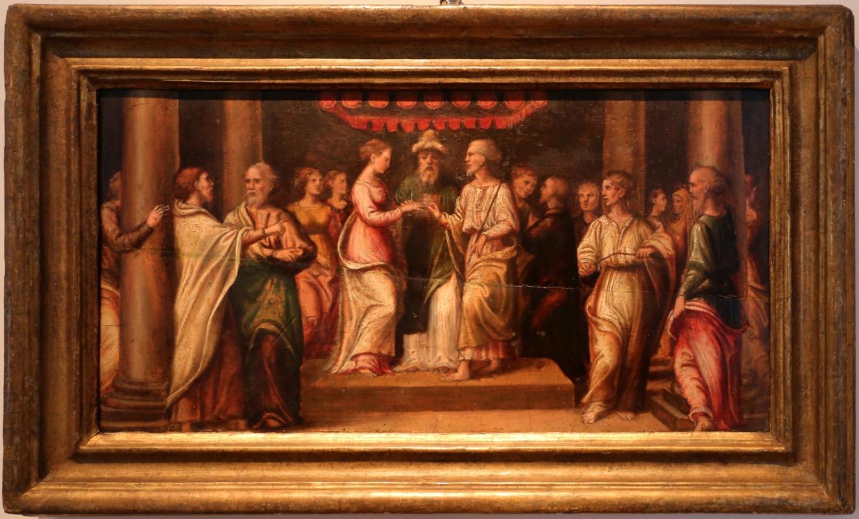 Francesco menzocchi, sposalizio della vergine, 1530-40 ca - Sailko - Forlì (FC)