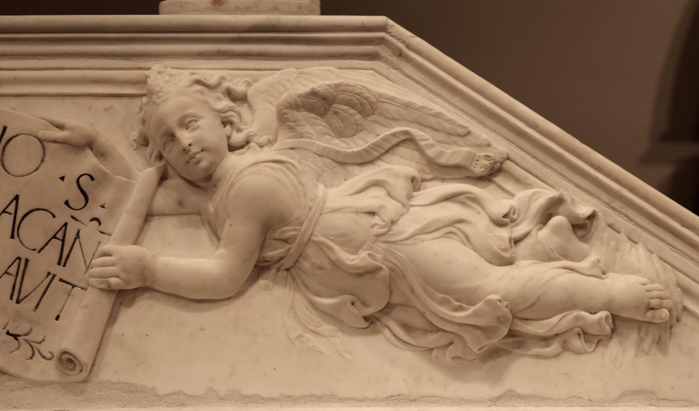 Antonio rossellino, sarcofago del beato marcolino amanni, 1458, da s. giacomo in s. domenico a forlì, 12 angelo - Sailko - Forlì (FC)