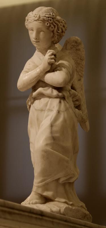 Antonio rossellino, sarcofago del beato marcolino amanni, 1458, da s. giacomo in s. domenico a forlì, 06 angelo - Sailko - Forlì (FC)
