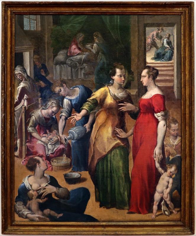 Gian francesco modigliani, natività della vergine, 1590-1600 ca. 01 - Sailko - Forlì (FC)
