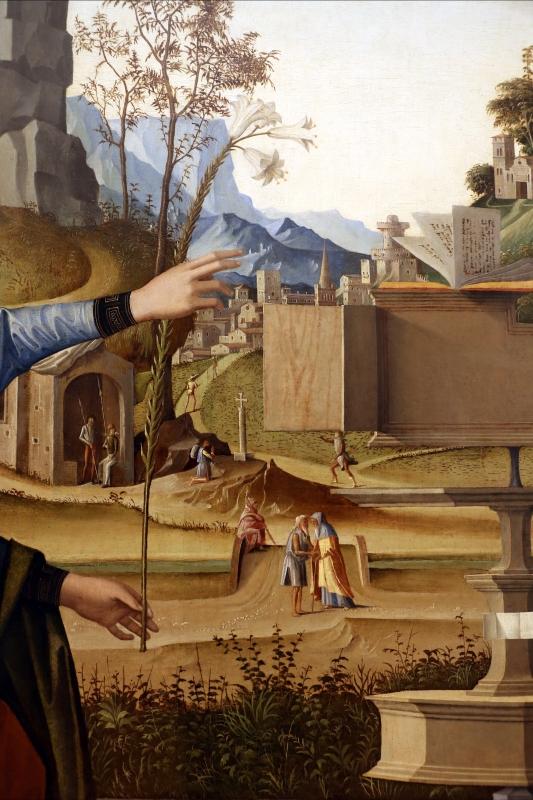 Marco palmezzano, annunciazione, 1495-97 ca., da s.m. del carmine a forlì, 05 - Sailko - Forlì (FC)