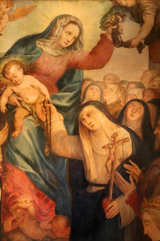 Pier paolo menzocchi, madonna del rosario, 1585 ca., da s. giacomo in s. domenico a forlì 05 - Sailko - Forlì (FC)