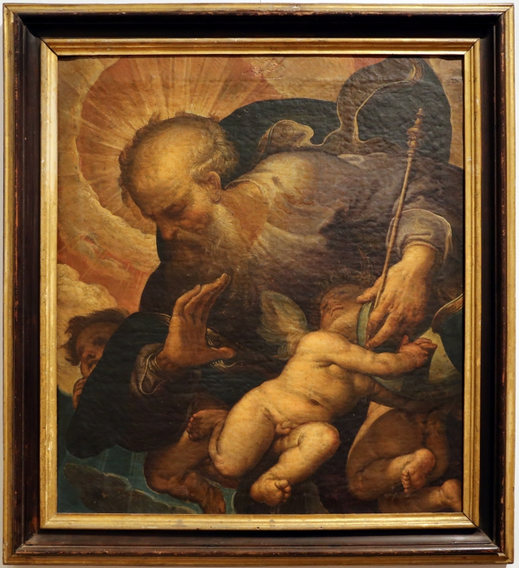 Ferraù fenzoni, padre eterno tra angeli, 1614 ca., dal duomo di forlì - Sailko - Forlì (FC)