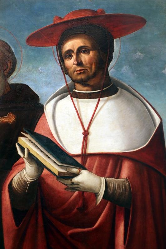 Baldassarre carrari, incoronazione della vergine e santi, 1512, dall'altare maggiore di san mercuriale, 07 bernardo degli uberti - Sailko - Forlì (FC)