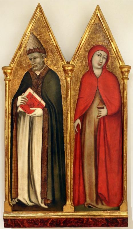 Mello da gubbio, santi gregorio e maria maddalena, 1330-60 ca - Sailko - Forlì (FC)