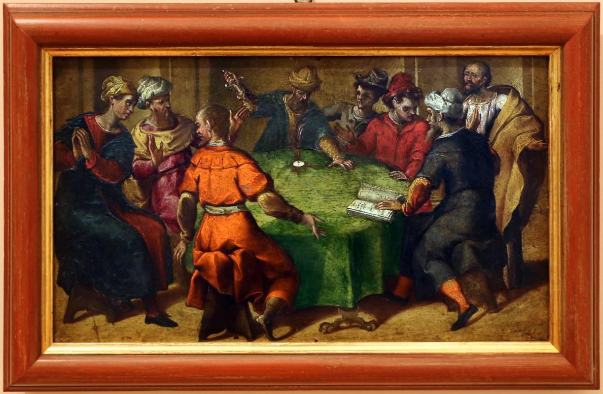 Gian francesco modigliani, storie eucaristiche, 1600-10 ca, dal duomo di forlì, profanazione dell'ostia - Sailko - Forlì (FC)