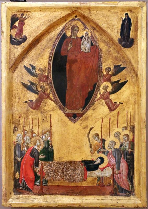Maestro di forlì, trittico smembrato con assunta, crocifissione e santi, 1280-1310 ca. 02 - Sailko - Forlì (FC)