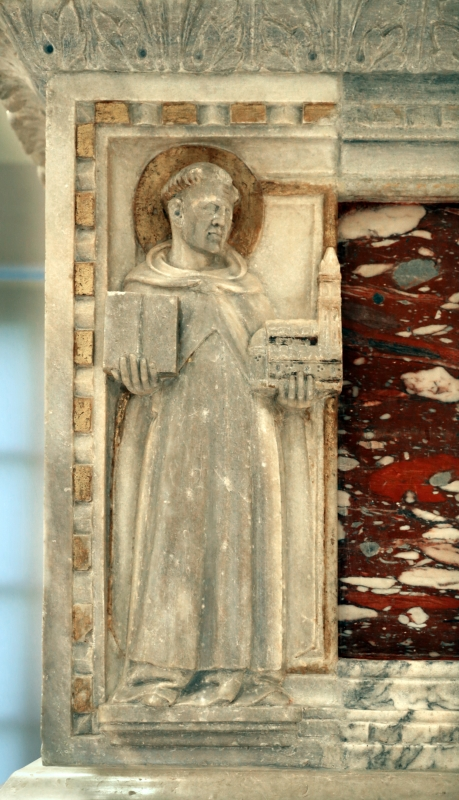 Sarcofago del beato giacomo salomoni, 1340 ca., da s. giacomo apostolo in san domenico, 05 - Sailko - Forlì (FC)