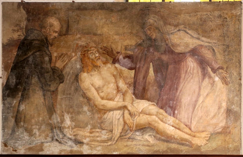 Livio agresti, fatti della vita di san pellegrino laziosi, 05 adorazione del cristo in pietà - Sailko - Forlì (FC)