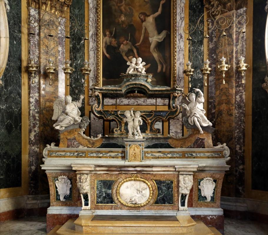 Forlì, santa maria dei servi o san pellegrino, interno, cappella di s. pellegrino laziosi, altare - Sailko - Forlì (FC)