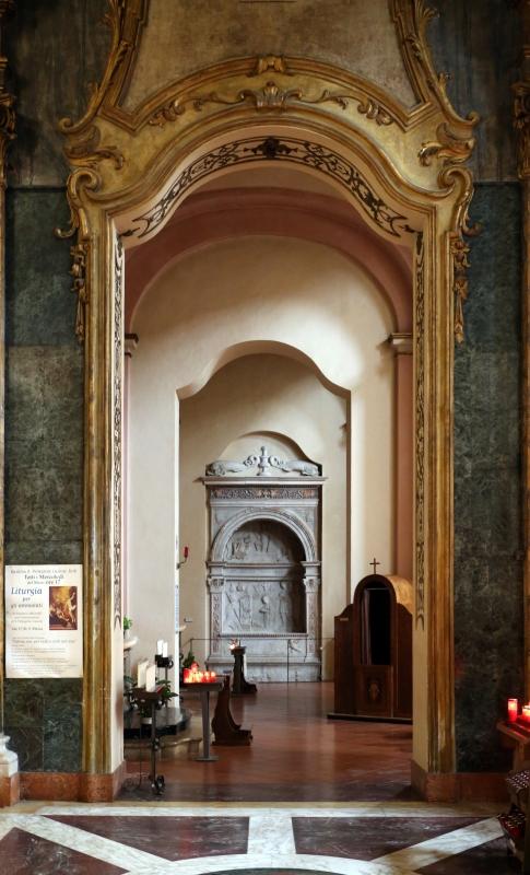 Tommaso fiamberti, monumento funebre di luffo numai, con rilievi di giovanni ricci, 1502-09, 00 - Sailko - Forlì (FC)